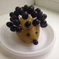 Осенние поделки из овощей и фруктов в детском саду