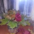 Мастер-класс «Ваза с цветами» из природного материала