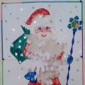 Конспект НОД по изобразительной деятельности «День рождения Деда Мороза» для детей старшего дошкольного возраста