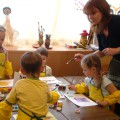 Организации предметно-пространственной развивающей среды детского сада с опорой на схему единства характера среды