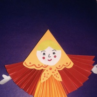 Мастер-класс «Кукла «Масленица» из бумаги»