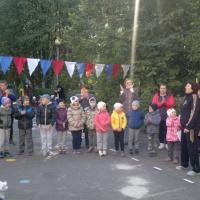Фотоотчет о городских зональных соревнованиях среди дошкольников «Осенняя спартакиада»