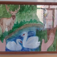 Рисунок «Берегите леса!»
