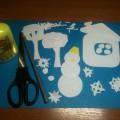 Аппликация «Здравствуй, зимушка-зима»