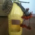 Мастер-класс по изготовлению кормушки для птиц из пластиковой бутылки
