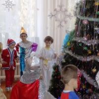 Фотоотчёт о новогоднем празднике в подготовительной к школе группе