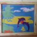 Творческая работа «Дельфины»