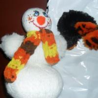 Мастер-класс «Вязаный веселый снеговик»