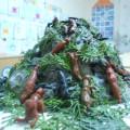 Поделка из папье-маше «Муравьишки в муравейнике»