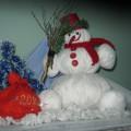 Фотоотчет о проведении смотра-конкурса «Весёлый снеговик!»