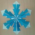 Мастер-класс «Снежинка из бумаги»
