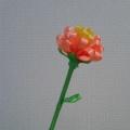 Цветок из атласных лент. Мастер-класс