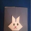 Лэпбук «Заяц-оригами»