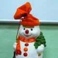 НОД по изобразительной деятельности в средней группе. «Снеговики в нарядных шапочках и шарфиках»