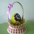 «Роспись пасхальных яиц» Средняя группа