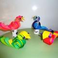 Детский мастер-класс «Птичка-завитушка»