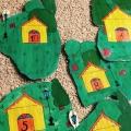 Авторская дидактическая игра «Посели жуков в свои домики»