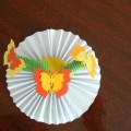 Мастер-класс «Ромашка и бабочки»