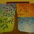 Мастер-класс «Сезонное дерево из пуговиц»