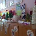 Фотоотчёт «Новогодний серпантин»— сотворчество родителей и детей вторая младшая группа