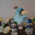 Конспект занятия «Лепим снеговика»