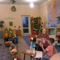 Фотоотчет об индивидуальной выставке прабабушки «Золотые руки мастерицы»