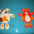 Дидактическая игра для детей младшего дошкольного возраста «Уши, лапы, хвост!»