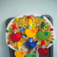 Дидактическая игра для детей младшего и среднего дошкольного возраста «Чудесная яблонька»