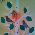 Реализация проектной деятельности «Села птичка на окошко» (вторая младшая группа)