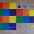Дидактическая игра «Подбери фигуру по цвету»