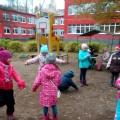 Подвижные игры старших дошкольников на улице-фотоотчет