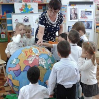 Конспект интегрированной образовательной деятельности «Земля— наш общий дом»