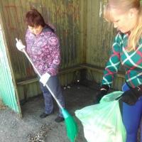 Фотоотчёт об участии во Всероссийском экологическом субботнике «Зелёная Россия»
