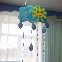 Дидактическая игра «Озорной мобиль «Весёлый дождик»