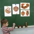 Конспект занятия по рисованию для детей подготовительной группы «Золотая хохлома»