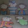 Дидактическая игра «Забавные куколки»