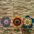 Мастер-класс «Весенние цветы из фетра»