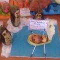 Фотоотчет о выставке совместного творчества детей и родителей «Осенние фантазия»