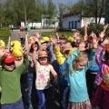 С Днем Рождения, любимый детский сад! Часть II— флешмоб и наши пожелания!