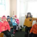 Фотоотчет зимней прогулки в подготовительной группе «Почемучки»
