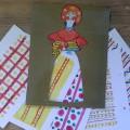 «Дымковская барышня». Демонстрационный материал для детей старшей и подготовительной групп