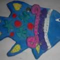 Мастер-класс по лепке плоских фигур из глины «Морская рыбка» для детей в возрасте 7–9 лет