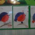 Конспект занятия во второй младшей группе рисования «Как розовые яблочки на ветках снегири»