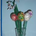 «Декор пасхального яйца на палочке в технике декупаж» (мастер-класс)