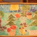 Мастер-класс по нетрадиционной технике изобразительной деятельности (картина из яичной скорлупы) «Дары леса»