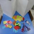 Мастер-класс по изготовлению книжки-раскладушки в технике «Аппликация из ладошек»