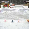 Развивающая предметно-пространственная среда на участке детского сада в зимнее время