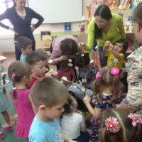 Фотоотчет открытого занятия для родителей по развитию речи «Пять ключей»