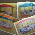 Конкурс среди детей второй младшей группы «Я рисую лучше всех!» (фотоотчет)
