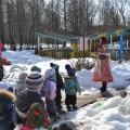 Фотоотчет праздника «В гости на Масленицу» для детей всех групп детского сада